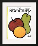 The New Yorker Cover - September 26, 1964 Framed Giclee Print by Abe Birnbaum