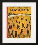 The New Yorker Cover - January 17, 1953 Framed Giclee Print by Abe Birnbaum
