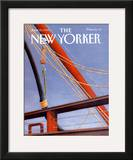 The New Yorker Cover - June 22, 1992 Framed Giclee Print by Gretchen Dow Simpson