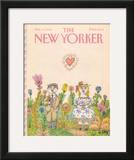 The New Yorker Cover - February 13, 1984 Framed Giclee Print by William Steig