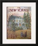 The New Yorker Cover - December 14, 1957 Framed Giclee Print by Edna Eicke