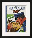 The New Yorker Cover - June 4, 1960 Framed Giclee Print by Peter Arno