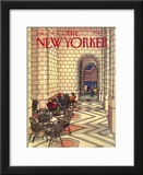 The New Yorker Cover - August 12, 1985 Framed Giclee Print by Roxie Munro