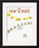 The New Yorker Cover - May 12, 1980 Framed Giclee Print by Robert Tallon