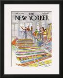 The New Yorker Cover - January 21, 1980 Framed Giclee Print by Arthur Getz