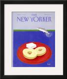 The New Yorker Cover - April 6, 1992 Framed Giclee Print by Heidi Goennel