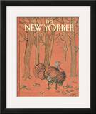 The New Yorker Cover - November 28, 1988 Framed Giclee Print by William Steig