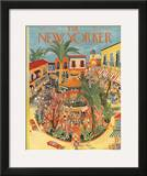 The New Yorker Cover - April 25, 1953 Framed Giclee Print by Ilonka Karasz