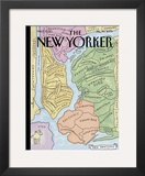 The New Yorker Cover, &quot;New Yorkistan&quot; - December 10, 2001 Framed Giclee Print by Maira Kalman &amp; Rick Meyerowitz