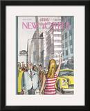 The New Yorker Cover - July 8, 1972 Framed Giclee Print by Charles Saxon