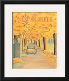 The New Yorker Cover - November 12, 1984 Framed Giclee Print by Jenni Oliver
