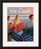 The New Yorker Cover - July 29, 1991 Framed Giclee Print by Gretchen Dow Simpson
