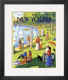 The New Yorker Cover - July 15, 1991 Framed Giclee Print by Bob Knox