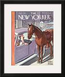 The New Yorker Cover - August 2, 1941 Framed Giclee Print by Peter Arno