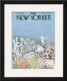 The New Yorker Cover - March 16, 1963 Framed Giclee Print by Ilonka Karasz