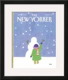 The New Yorker Cover - January 30, 1984 Framed Giclee Print by Heidi Goennel