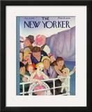 The New Yorker Cover - July 21, 1934 Framed Giclee Print by William Cotton