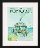 The New Yorker Cover - July 23, 1979 Framed Giclee Print by Charles Saxon