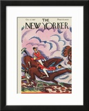 The New Yorker Cover - October 22, 1927 Framed Giclee Print by Julian de Miskey