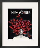 The New Yorker Cover - March 29, 2010 Framed Giclee Print by Ana Juan