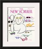 The New Yorker Cover - July 9, 1990 Framed Giclee Print by Merle Nacht