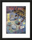 The New Yorker Cover - September 24, 1949 Framed Giclee Print by Tibor Gergely
