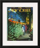 The New Yorker Cover - December 14, 1963 Framed Giclee Print by Arthur Getz