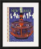 The New Yorker Cover - May 21, 1927 Framed Giclee Print by Ilonka Karasz