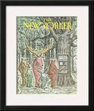 The New Yorker Cover - May 7, 1990 Framed Giclee Print by Edward Koren