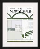 The New Yorker Cover - July 14, 1980 Framed Giclee Print by Gretchen Dow Simpson