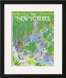 The New Yorker Cover - July 30, 1984 Framed Giclee Print by Arthur Getz