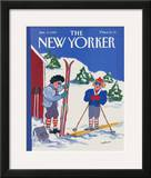 The New Yorker Cover - January 9, 1989 Framed Giclee Print by Barbara Westman