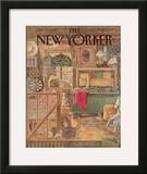 The New Yorker Cover - December 21, 1987 Framed Giclee Print by Jenni Oliver