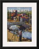 The New Yorker Cover - October 20, 1945 Framed Giclee Print by Alan Dunn