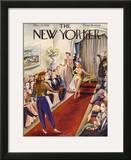 The New Yorker Cover - December 9, 1939 Framed Giclee Print by Constantin Alajalov