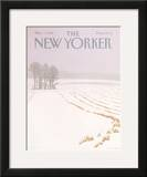 The New Yorker Cover - March 7, 1988 Framed Giclee Print by Gretchen Dow Simpson