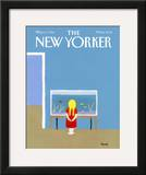 The New Yorker Cover - May 12, 1986 Framed Giclee Print by Heidi Goennel