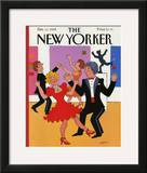 The New Yorker Cover - December 11, 1989 Framed Giclee Print by Barbara Westman
