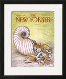 The New Yorker Cover - April 11, 1988 Framed Giclee Print by John O'brien