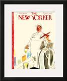 The New Yorker Cover - September 24, 1938 Framed Giclee Print by Rea Irvin