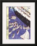The New Yorker Cover - February 6, 1937 Framed Giclee Print by Roger Duvoisin