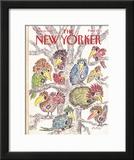 The New Yorker Cover - June 20, 1988 Framed Giclee Print by Edward Koren