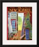 The New Yorker Cover - August 18, 1962 Framed Giclee Print by Ilonka Karasz