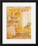 The New Yorker Cover - March 2, 1987 Framed Giclee Print by Jenni Oliver