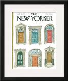 The New Yorker Cover - July 16, 1979 Framed Giclee Print by Laura Jean Allen