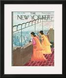 The New Yorker Cover - July 22, 1961 Framed Giclee Print by Anatol Kovarsky