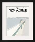 The New Yorker Cover - September 2, 1985 Framed Giclee Print by Gretchen Dow Simpson