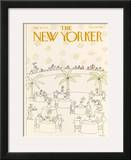 The New Yorker Cover - July 9, 1979 Framed Giclee Print by Robert Tallon