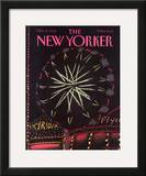 The New Yorker Cover - October 21, 1985 Framed Giclee Print by Merle Nacht