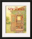 The New Yorker Cover - July 10, 1989 Framed Giclee Print by Jenni Oliver